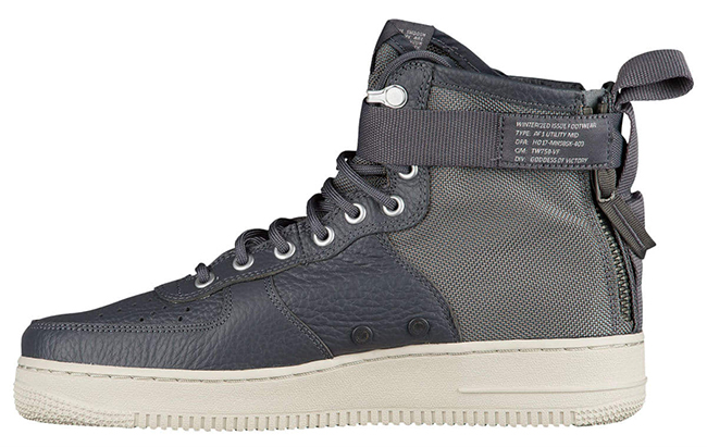 Nike SF AF1 Mid Dark Grey Light Bone 917753-004
