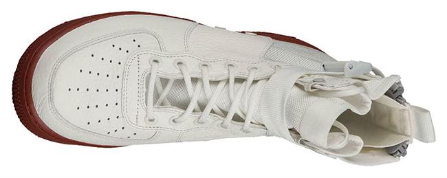 Nike SF AF1 Mid Ivory Dark Red 917753-100