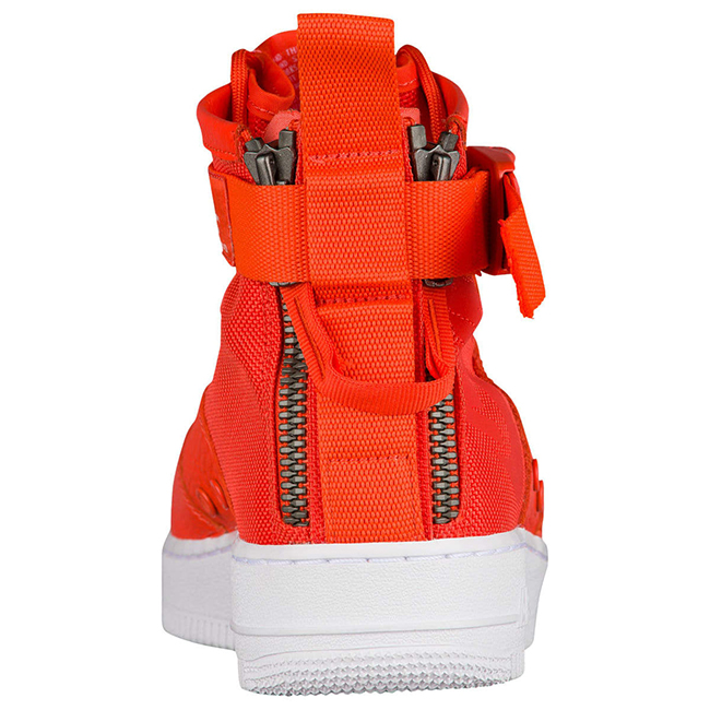 Nike SF AF1 Mid Team Orange 917753-800