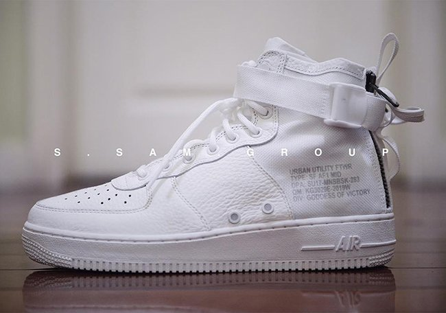 Nike SF-AF1 Mid Triple White Release Date