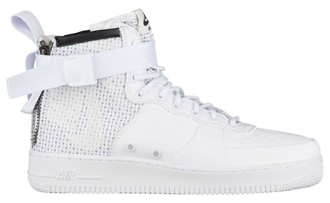 Nike SF AF1 Mid Winter IBEX Triple White AA1129-100