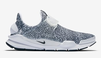 Nike Sock Dart Safari White Black