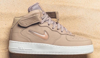 NikeLab Air Force 1 Mid Jewel Mushroom