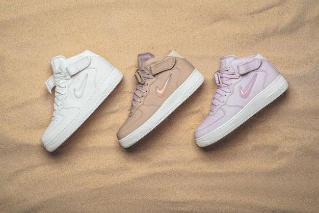 NikeLab Air Force 1 Mid Jewel Pack | SneakerFiles
