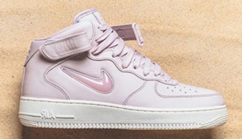 NikeLab Air Force 1 Mid Jewel Silt Red