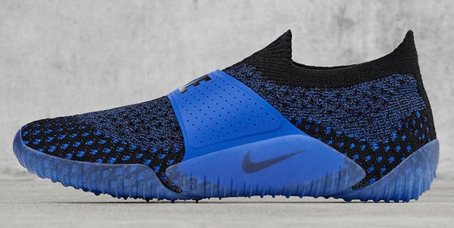 NikeLab City Knife Flyknit Blue