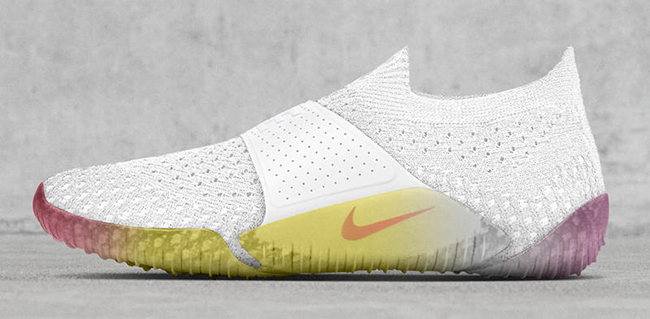 NikeLab City Knife Flyknit White