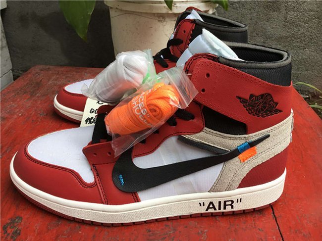 OFF-WHITE Air Jordan 1 Chicago Retail Price $350