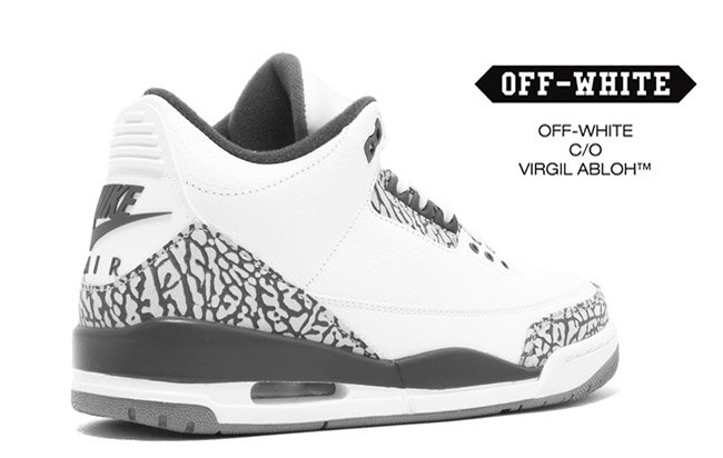 OFF-WHITE Air Jordan 3 OG Release Date