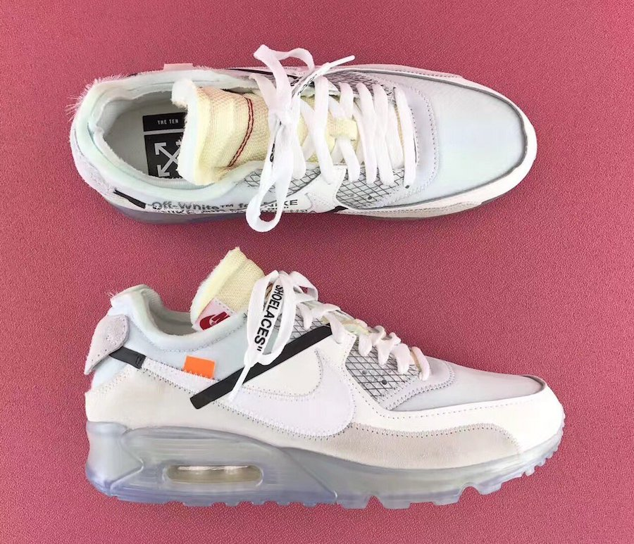 nike air max 90 off white price