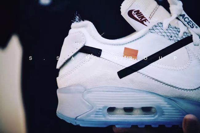 OFF-WHITE Nike Air Max 90 Ice 10X
