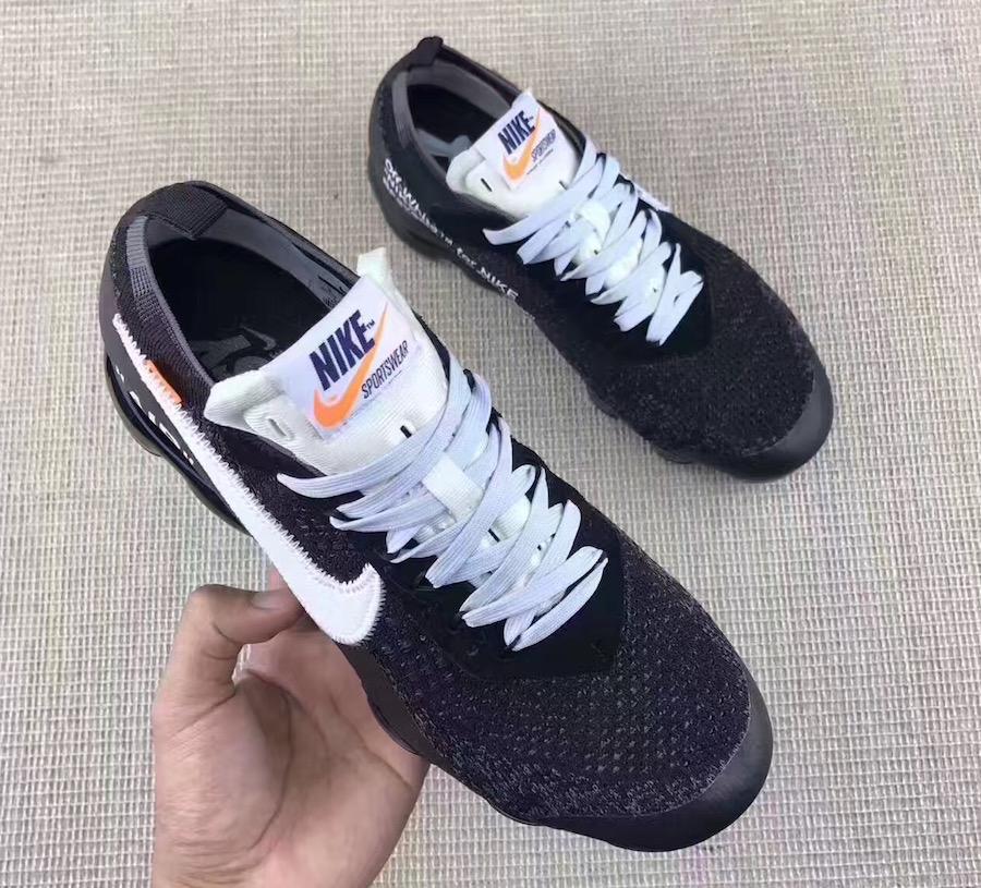 OFF-WHITE Nike VaporMax Black White