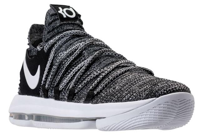 Oreo Nike KD 10 Black White 897815-001