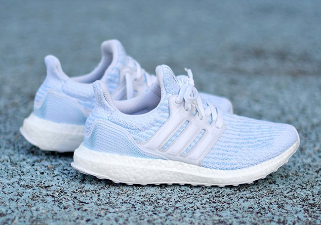watch 67189 e449f Parley x adidas Ultra Boost 3.0 Ice Blue Release Date ...