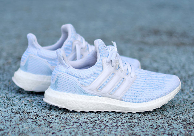 new style 804df 56b4c Parley adidas Ultra Boost Ice Blue Release Date