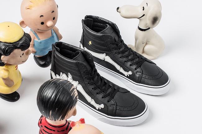 Peanuts x Blends x Vans Vault SK8-Hi Reissue Zip