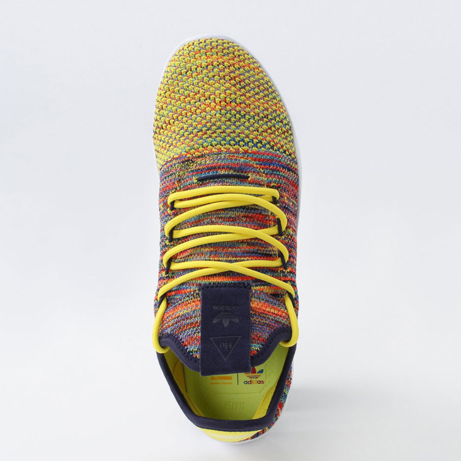Pharrell adidas Tennis Hu BY2673 Multicolor