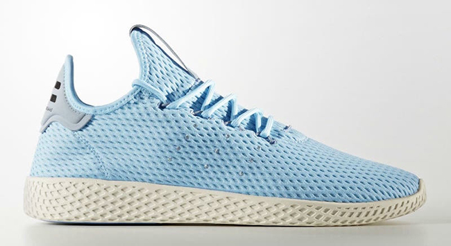 Pharrell adidas Tennis Hu Light Blue
