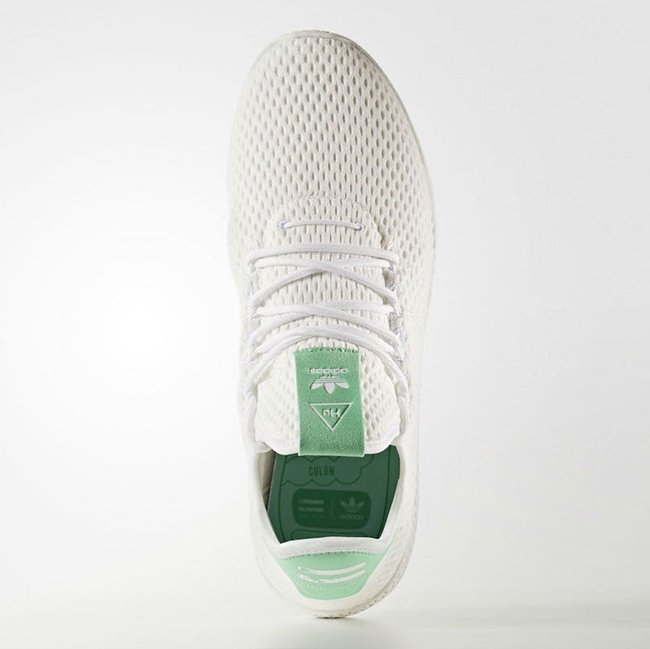 Pharrell adidas Tennis Hu Light Green Release Date