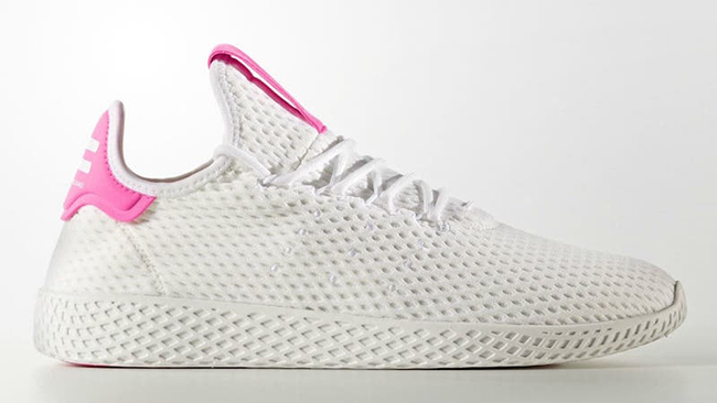 Pharrell adidas Tennis Hu Light Pink Release Date