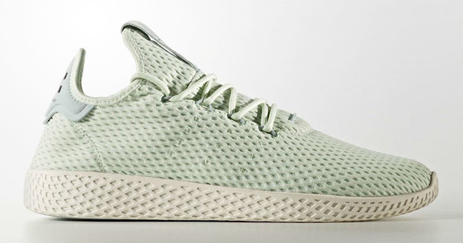 Pharrell adidas Tennis Hu Mint Green