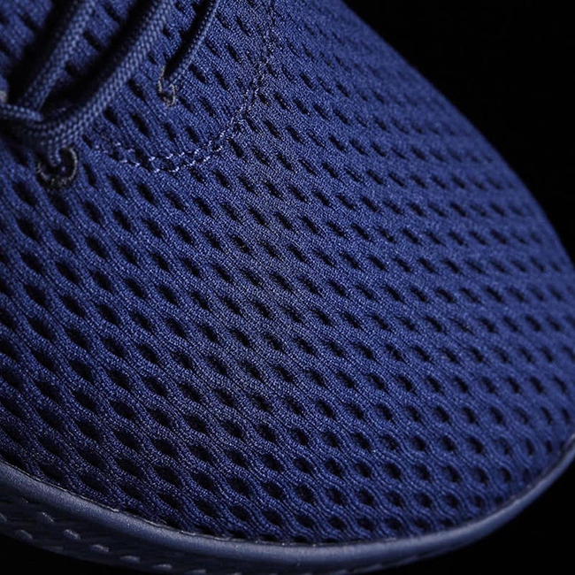Pharrell adidas Tennis Hu Navy Blue Release Date