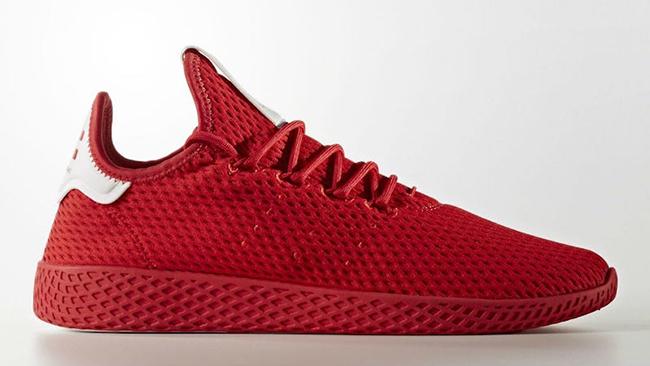 Pharrell adidas Tennis Hu Red Release Date