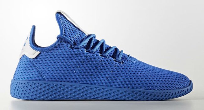 Pharrell adidas Tennis Hu Royal Blue