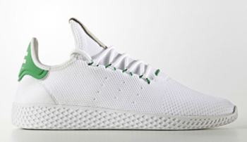Pharrell adidas Tennis HU White Green