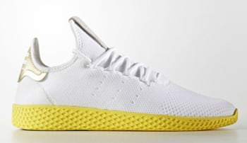 Pharrell adidas Tennis HU White Yellow