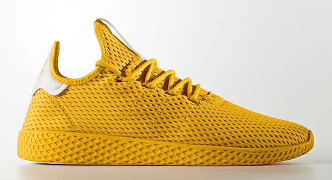 Pharrell adidas Tennis Hu Yellow