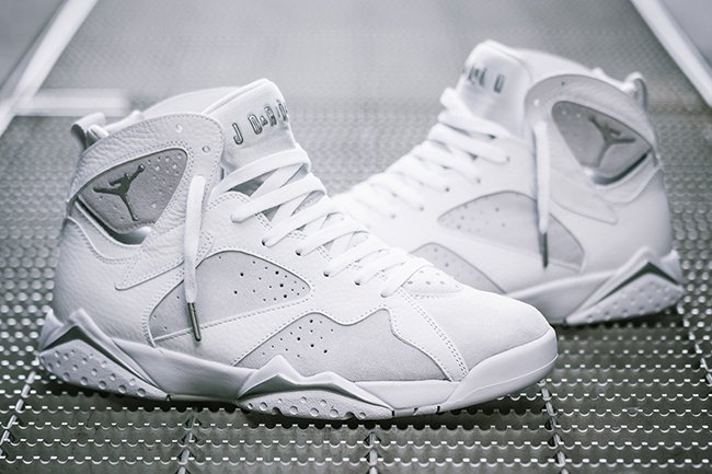 1b7dc6198783 Air Jordan 7 Pure Money Platinum Release Date