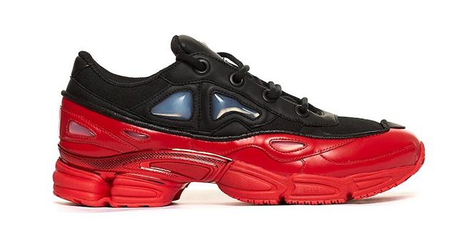Raf Simons adidas Ozweego 3 Red Black