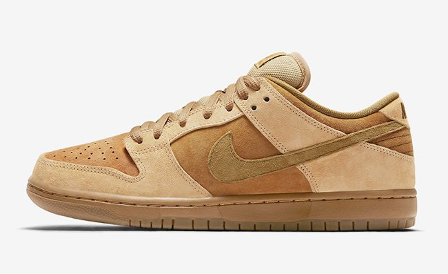 Reverse Reese Forbes Nike SB Dunk Low Wheat