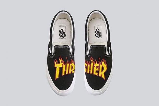 Thrasher Vans Slip-On SK8-Hi