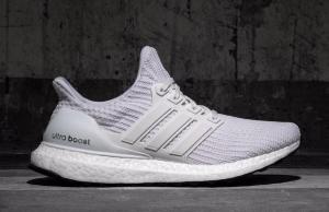 Triple White adidas Ultra Boost 4.0