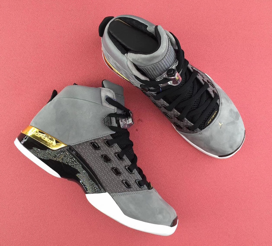 Trophy Room Air Jordan 17 Grey