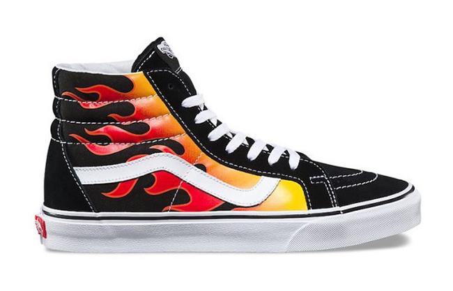 Vans Flame Pack SK8-HI Old Skool Slip-On | SneakerFiles