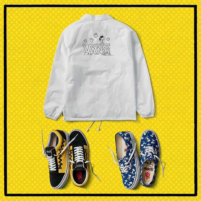 Vans Peanuts 2017 Collection