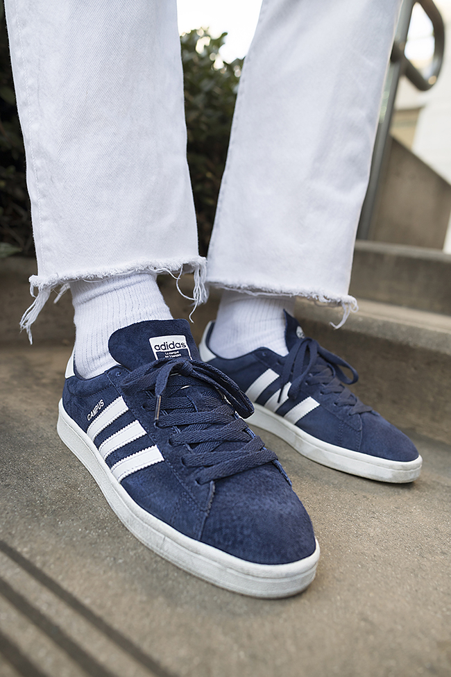 en soldes ffa9a c62b9 adidas Campus OG Navy Grey Black June 2017 | SneakerFiles