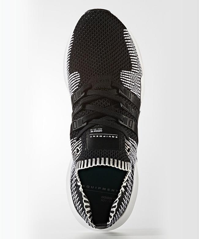 adidas EQT ADV Primeknit Black White
