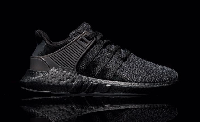 outlet store 3e7cc 5f0c9 adidas EQT Support 93/17 Boost Triple Black | SneakerFiles