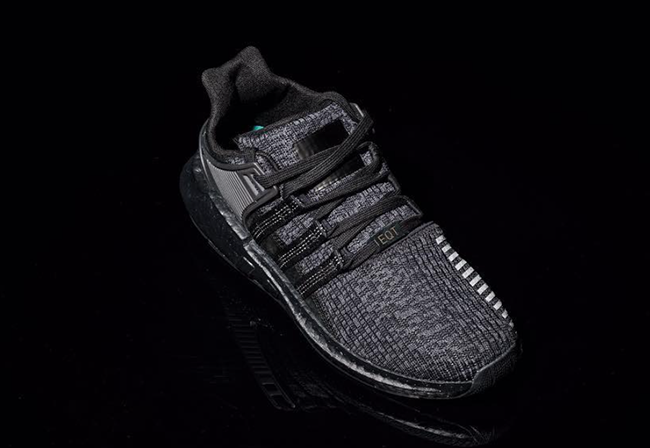 adidas EQT Support 93/17 Boost Triple Black