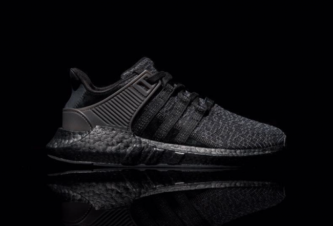 outlet store 68f2d ae832 adidas EQT Support 93/17 Boost Triple Black | SneakerFiles