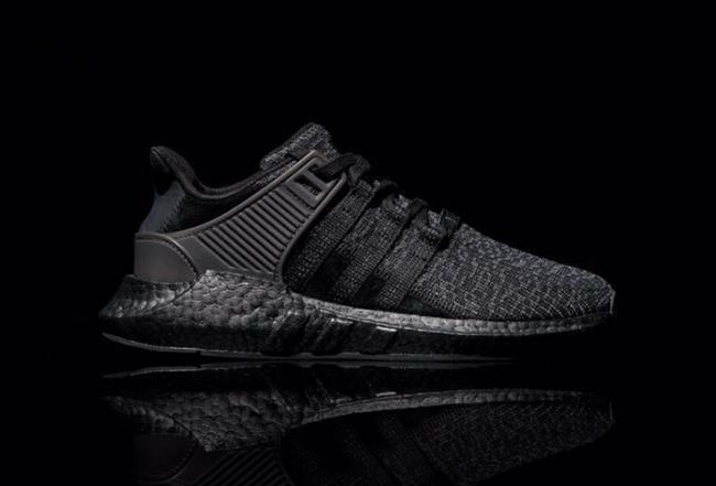 pretty nice 6cfce e377c adidas EQT Support 9317 Boost Triple Black  SneakerFiles