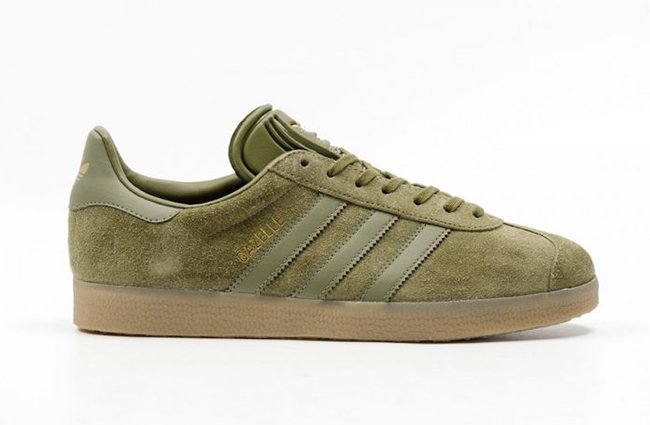 info for c581d 2f6d9 adidas Gazelle Olive Cargo