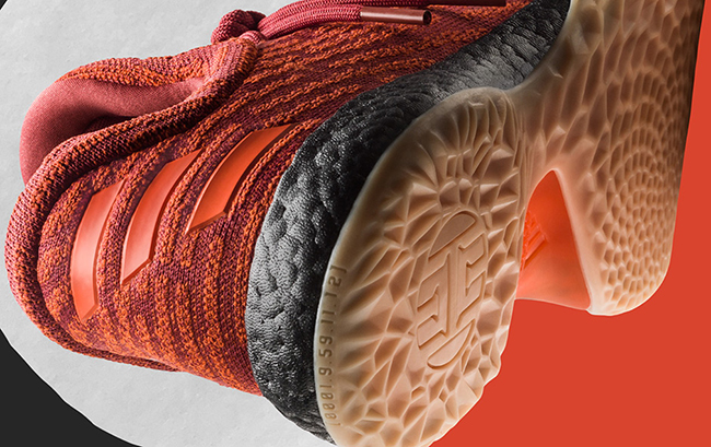 adidas Harden LS Fast Life Red Orange