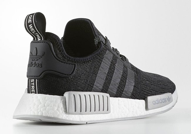 adidas NMD R1 Black Grey Release Date