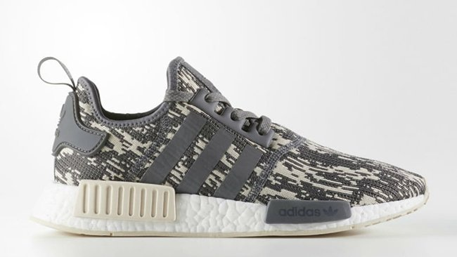 adidas NMD R1 Grey Linen Camo Release Date