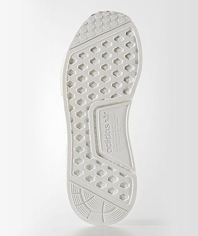 adidas NMD R1 Primeknit Triple White Release Date